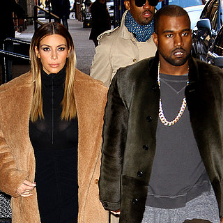 Kim Kardashian and Kanye West Go See Catching Fire