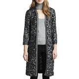 "Rachel Zoe Sequin Jacket ($395) ""I'm obsessed with the leather sequin Paulie Cardigan from my Fall 2013 collection. It's polished and effortlessly glamorous, and I think it makes the perfect gift for every woman in your life — your friend, sister, and mom!"""