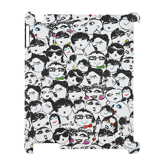 "Lanvin Alber Elbaz iPad Case ($75, originally $107) ""I love the idea of a playful carrying case for your electronics. This Lanvin iPad cover is fun and makes the perfect gift for the fashion addict in your life."""