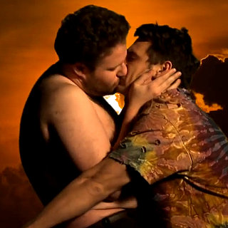 James Franco and Seth Rogen Spoof Bound 2 Music Video GIFs