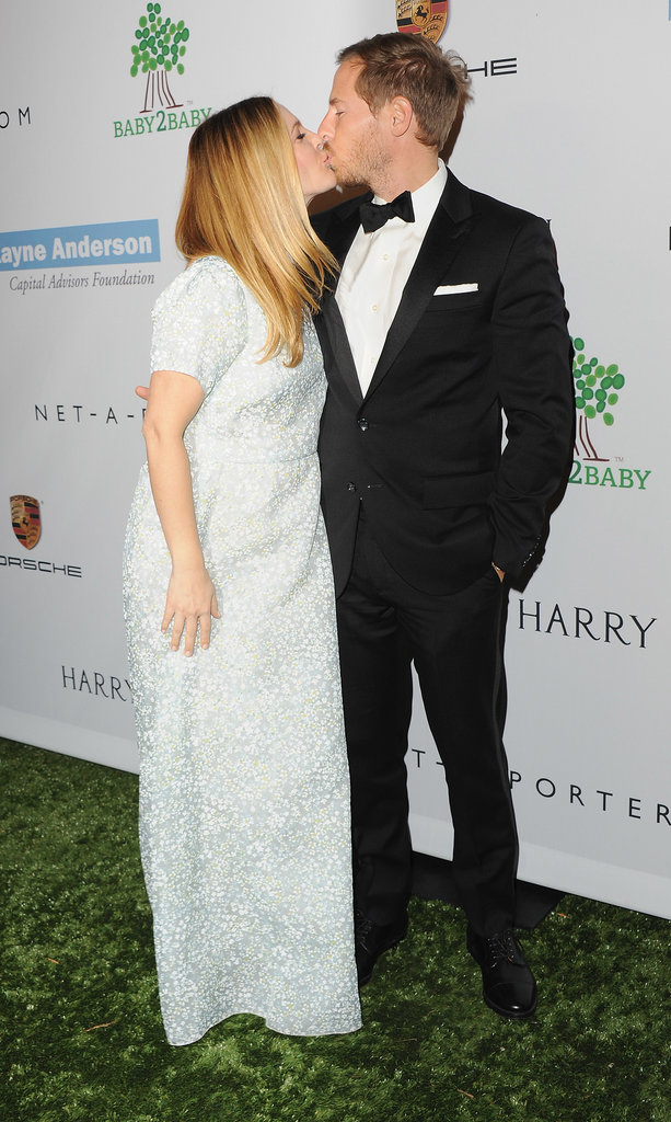 Drew Barrymore and Will Kopelman shared a kiss at a Beverly Hills charity gala back in November.