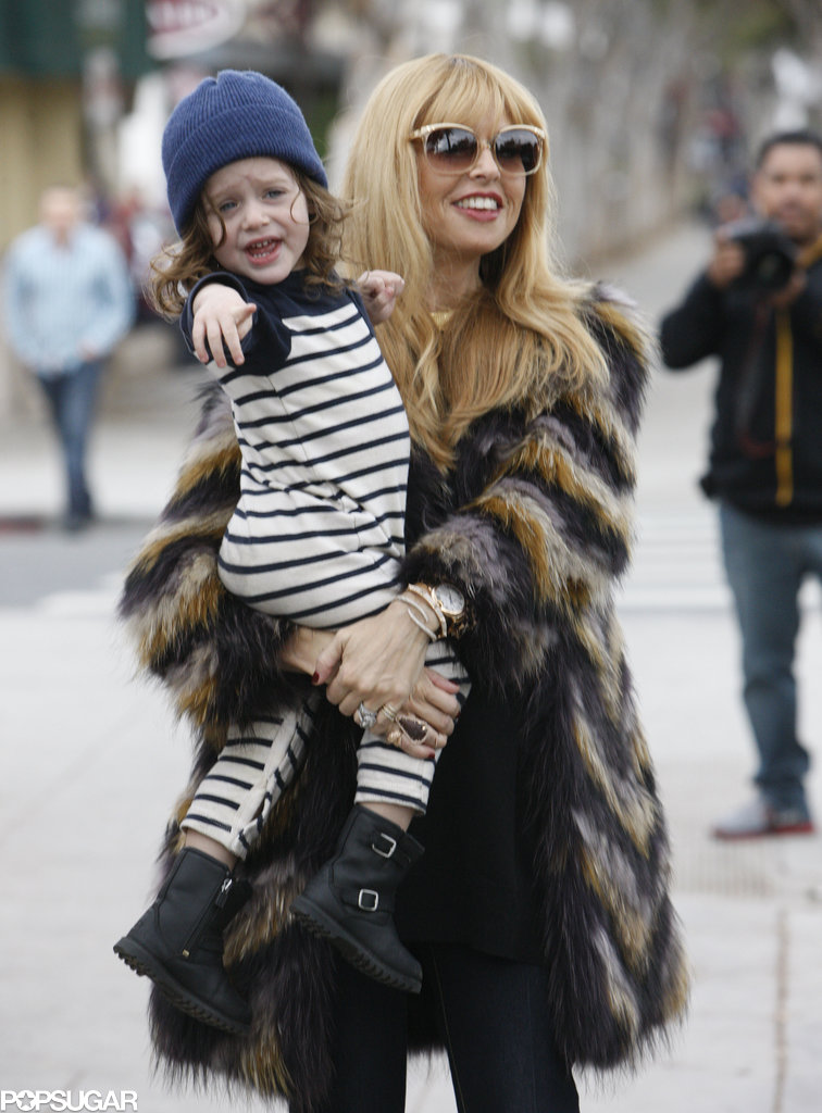 Rachel Zoe and Skyler Berman made for a smiley pair in LA on Friday.