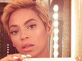 Beyoncé Knowles showed off her pixie cut with a selfie in August.  Source: Instagram user beyonce