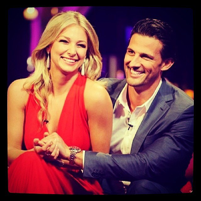 Anna shared a screen grab of her reunion with Tim on the special episode The Bachelor: After the Final Rose. Source: Instagram user annaheinrich1