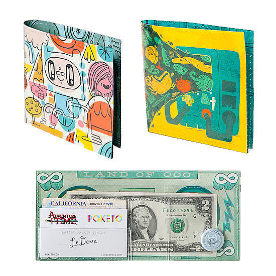 Adventure Time Wallets by Poketo