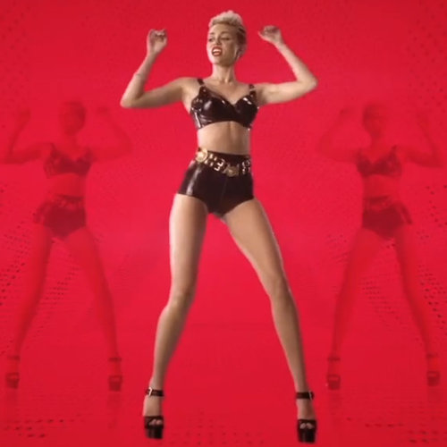 "Miley Cyrus in Will.i.am's ""Feelin' Myself"" Music Video"