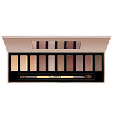 Find all of your shadow basics in one place with Clarins's The Essentials Eye Makeup Palette ($45).