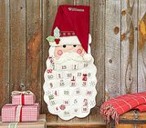 Buy: Pottery Barn Kids Santa Face Advent Calendar