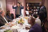 Brooklyn Nine-Nine Jake (Andy Samberg) shows up on Brooklyn Nine-Nine's Thanksgiving episode.
