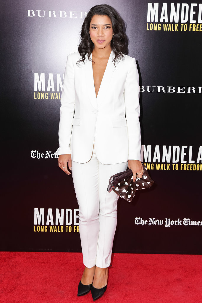 Hannah Bronfman at a screening of Mandela: Long Walk to Freedom.