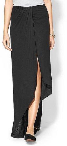 Free People Slubby Column Skirt