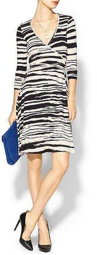 Rachel Pally Long Sleeve Print Wrap Dress
