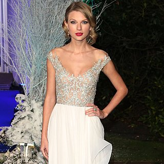 Taylor Swift Redefines Winter White For Her Royal Visit