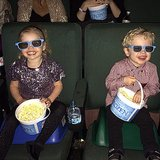 Neil Patrick Harris had two very adorable dates for the premiere of Frozen. Source: Instagram user instagranph