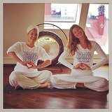 Gisele got in touch with her inner self. Source: Instagram user giseleofficial