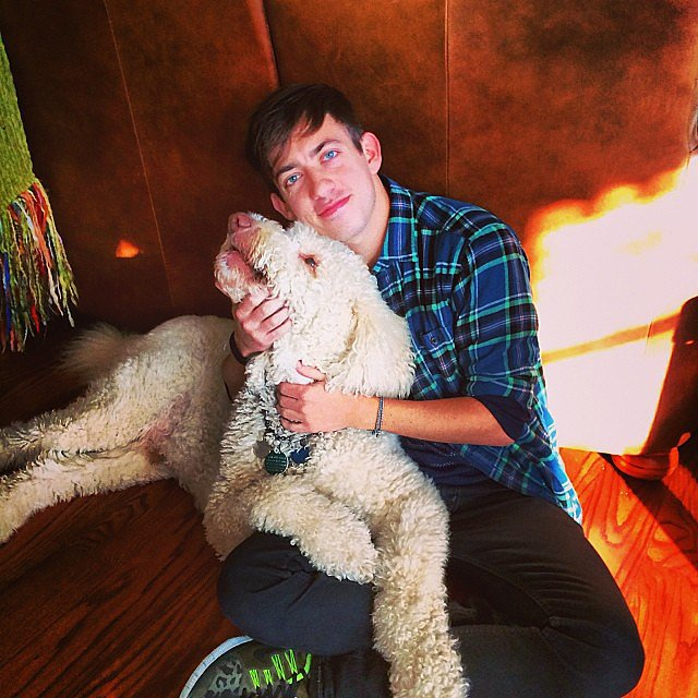 "Kevin McHale shared this picture with the caption, ""My boyfriend."" Source: Instagram user kevinmchale"