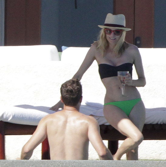 Bikini-Clad Diane Kruger Escapes to Mexico With Joshua Jackson