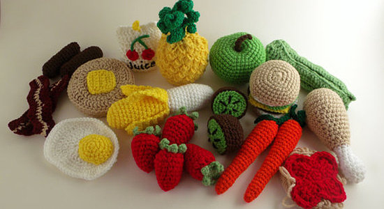 Crochet Food Kit