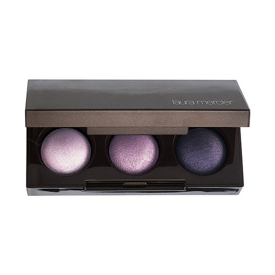 Laura Mercier is offering up the ultimate eye look this holiday with its versatile three-shadow Petite Baked Eye Colour Bonbons ($25). It's all you need for an unconventional aubergine smoky eye.