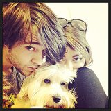 Sarah Hyland spent Thanksgiving with her boyfriend. Source: Instagram user therealsarahhyland