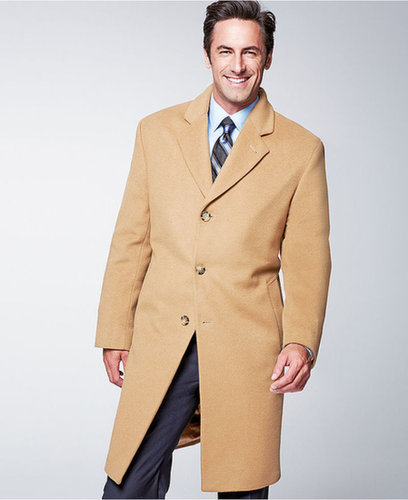 Michael Michael Kors Coat, Madison Cashmere-Blend Overcoat
