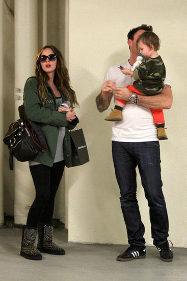Megan Fox's Baby Bump Is Out and so Are Her Cute Boys