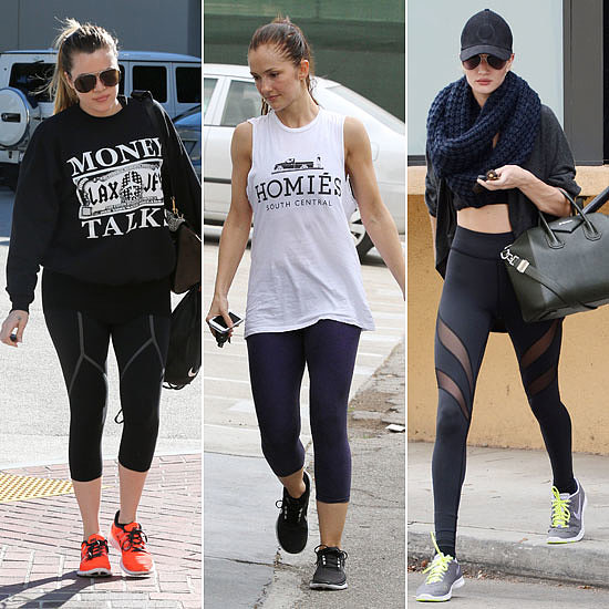 Updated! Celebrities Sweat it Out This Month