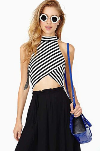 Right Direction Crop Tank