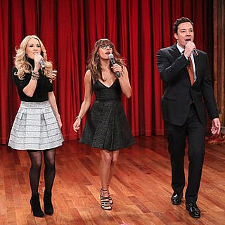 Jimmy Fallon and Rashida Jones Sing Holiday Songs