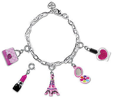 CHARM IT! Girl's Six-Piece High Fashion Bracelet & Charms Gift Set