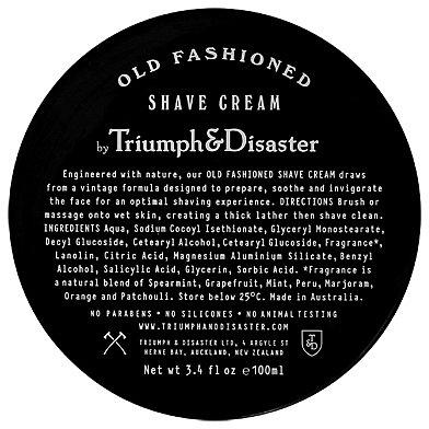 Triumph & Disaster - Old Fashioned Shave Cream Jar - 100m