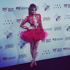 Instagram & Twitter Pictures: Celebrities, 2013 ARIA Awards