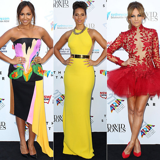 Frock Stars: Celebrities Turn It Up at the 2013 ARIA Awards