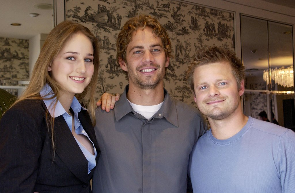 At the September 2001 Toronto International Film Festival, Paul Walker posed with his Joy Ride costars Leelee Sobieski and Steve Zahn.