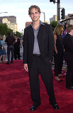 Paul Walker walked the red carpet for the LA premiere of The Fast and the Furious in June 2001.