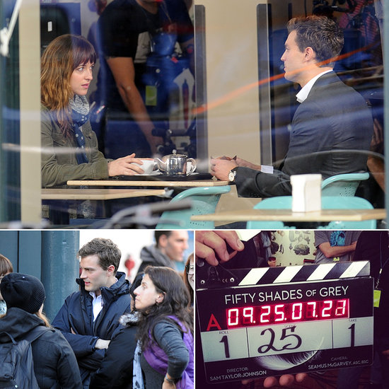 First Pictures From the Fifty Shades of Grey Movie Set!