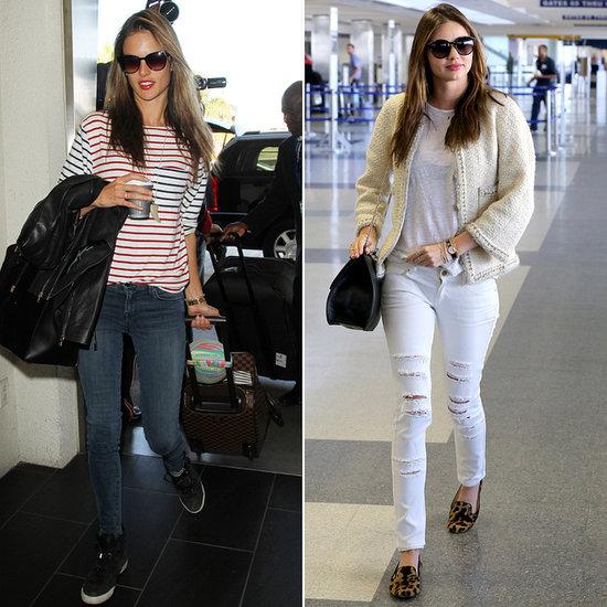 Celebrity Airport Style: Miranda Kerr, Jessica Alba + More