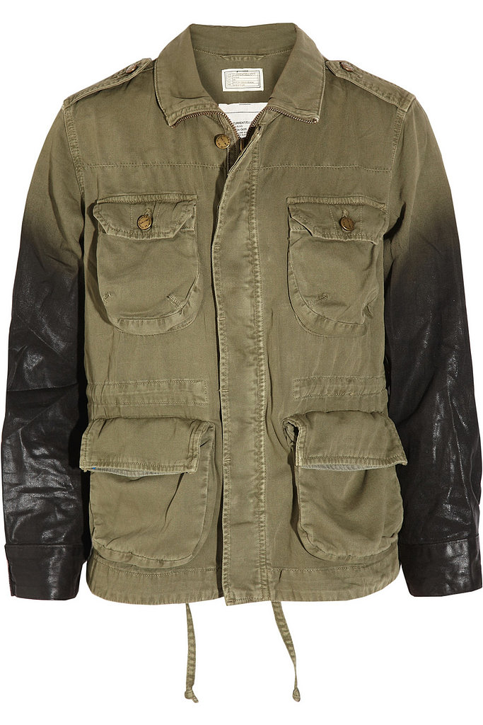 Current/Elliott The Lone Soldier Coated Cotton Jacket ($231, originally $330)