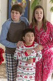 Trophy Wife Ryan Lee, Albert Tsai, and Bailee Madison on Trophy Wife.