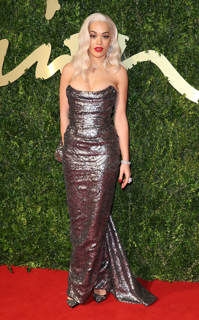 Rita Ora wore Vivienne Westwood. Source: Getty