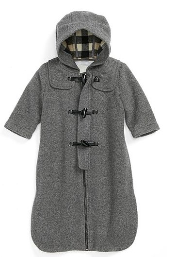 Burberry Hooded Wool Bunting