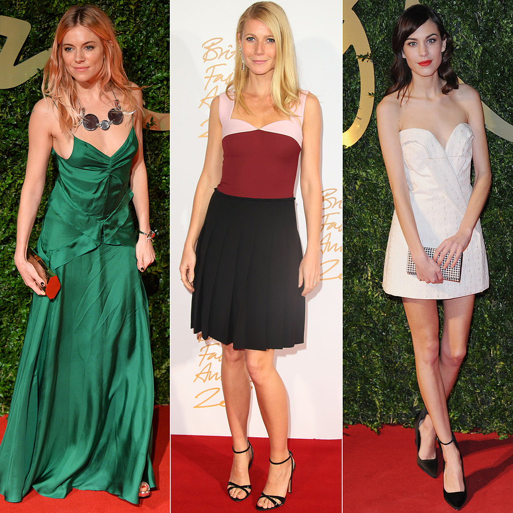 The Best Looks From the 2013 British Fashion Awards
