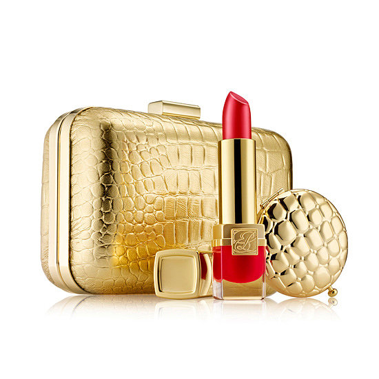 Gorgeously gilded, Estee Lauder's Golden Luxuries Set ($125) is perfect for anyone needing a touch of glamour in their lives.