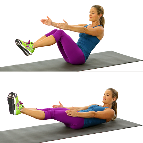 How to Do V-Sits  POPSUGAR  V Sit Ups