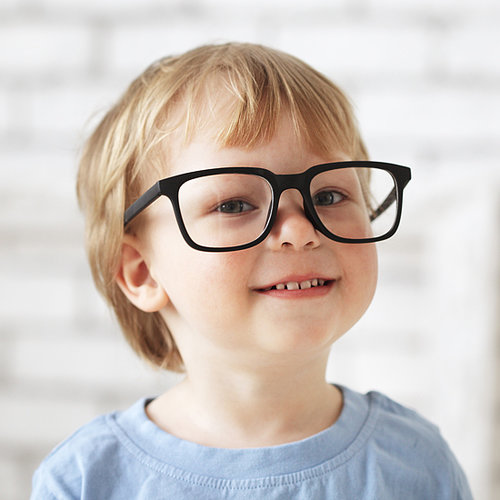 Facebook Supports Child With Glasses