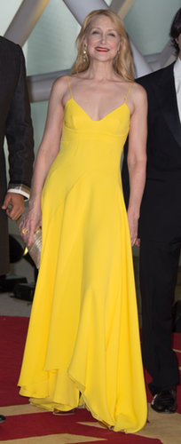 Patricia Clarkson in Yellow Dior Dress