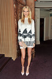Poppy Delevingne at the British Fashion Awards.