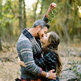 Holiday Engagement Shoot Pictures