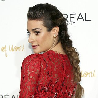 Lea Michele Braid 2013