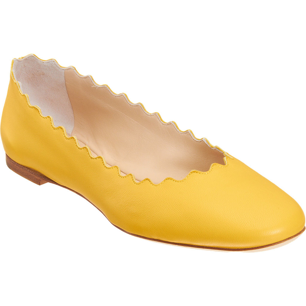 Chloé Scalloped Flat ($269, originally $450)